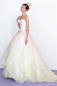 7 colorful wedding dresses for a non traditional gown With pastel pink wedding dress