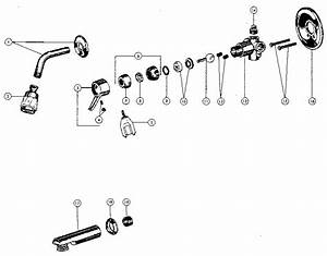 Peerless Model 3242 Faucet Genuine Parts