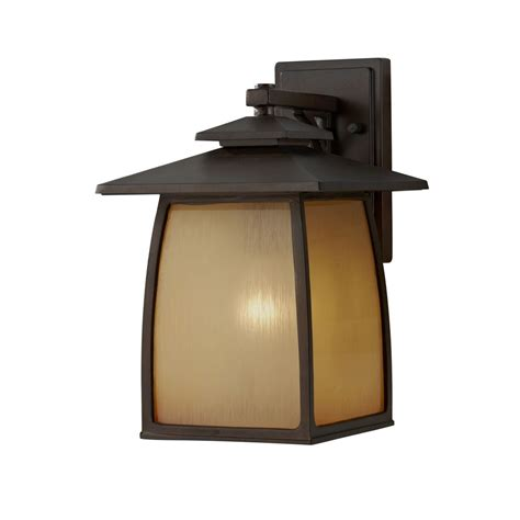 outdoor wall light with beige cream glass in sorrel