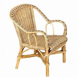 Fauteuil Osier Enfant : fauteuil enfant rotin naturel couleur vannerie du boisle ~ Teatrodelosmanantiales.com Idées de Décoration