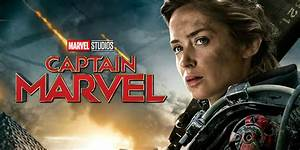 Emily Blunt Was Never Considered for Captain Marvel Role