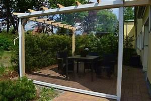 Der flexible windschutz f r ihre terrasse zum werkspreis for Windschutz für terrasse