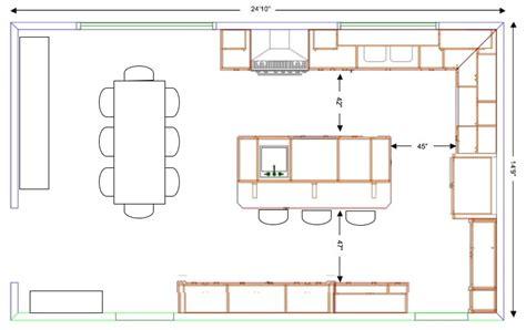 kitchen island layout dimensions querido ref 250 gio blog de decora 231 227 o 08 06 12