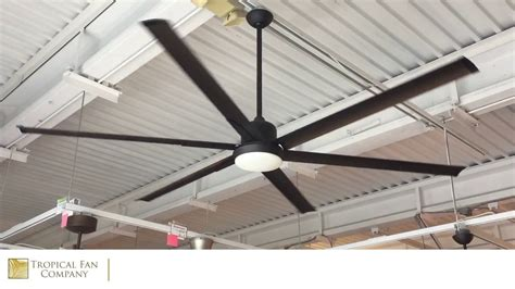 84 Inch Titan Ceiling Fan With Extruded Aluminum Blades By