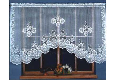 Free Curtain Crochet Patterns by Cortina Para Cocina Crochet Imagui