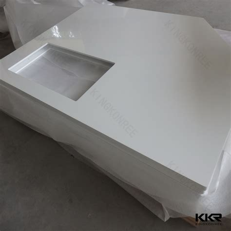 sell solid surface bathroom tops artificial vanity top vanity tops for kfc