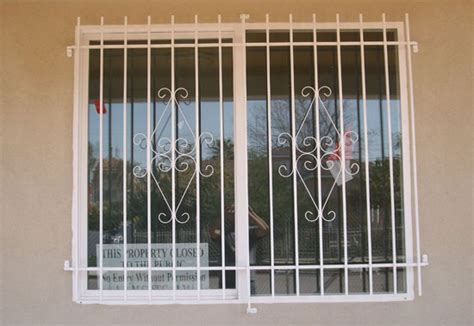 decorative security bars for residential windows custom residential fence gates window bars railings los