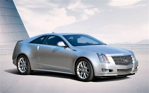 2011 Cadillac Cts Coupe Front Three Quarter Photo 5