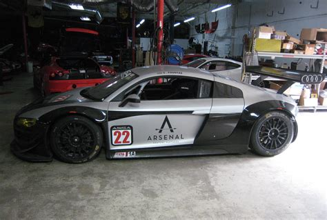 audi  lms gt race car exotic car list