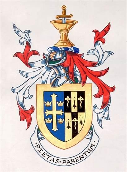 Crest Oxford Coat Arms Edwards Edward