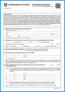 5 Arbeitsbescheinigung Formular Invitation Templated