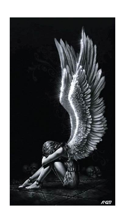 Animated Angel Angels Gifs Demons Wings Loved