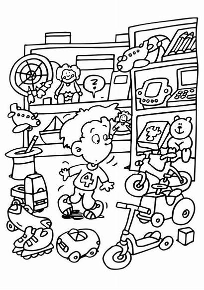 Coloring Toy Pages
