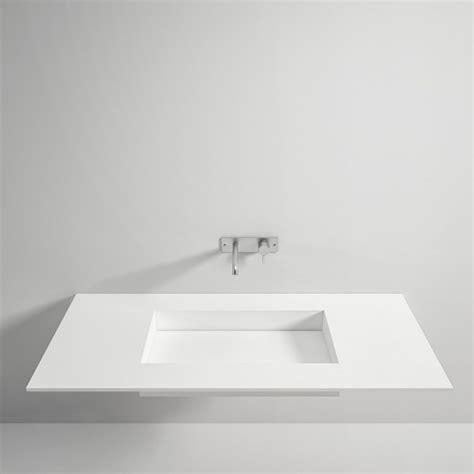 lavello in corian top in corian 174 con lavabo scivolo