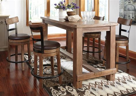 Living room table with stools, kitchen pub tables
