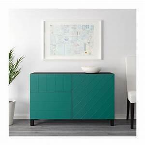 Gästezimmer Einrichten Ikea : aufbewkomb t ren schubladen best schwarzbraun hallstavik blaugr n ideen f r wohnung ikea ~ Buech-reservation.com Haus und Dekorationen