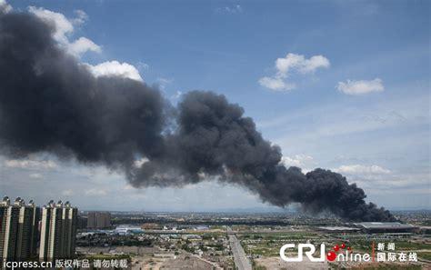 长沙火车南站附近仓库起火 爆炸声不断(组图)-搜狐滚动