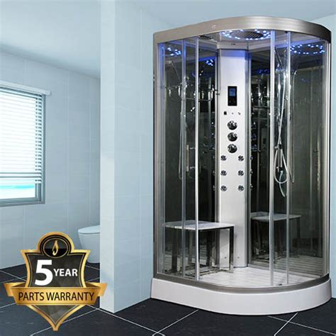 insignia ins steam shower cabin  mirrored