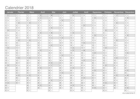 calendrier imprimer jours feries vacances numeros de semaine