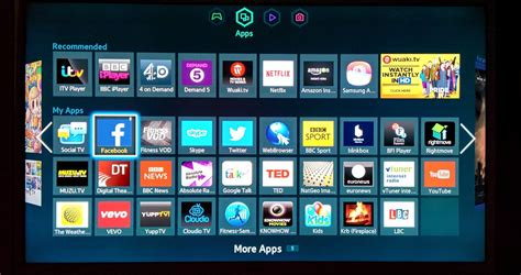 Samsung Mobile Applications by My Samsung Smart Tv S Apps Spot Absolute Radio Lbc And
