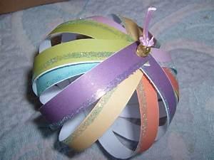 Boule De Noel A Fabriquer : charming faire des boules de noel 12 beautiful fabriquer ~ Nature-et-papiers.com Idées de Décoration