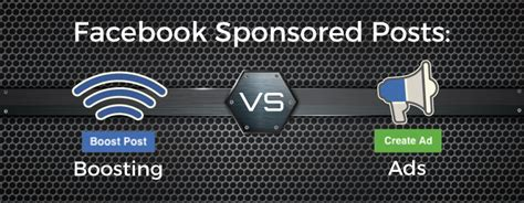 Facebook Sponsored Posts Showdown: Boosting vs Ads