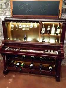 Liquor Cabinet Bar by Piano Recycled On Pinterest Liquor Cabinet Upright