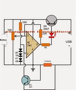 Usb li ion battery charger circuit secret diagram battery charger secret diagram battery charger circuit diagram auto cut off publicscrutiny Gallery