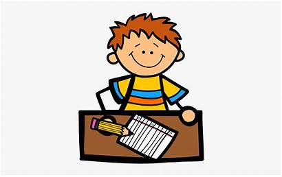 Writing Clipart Write Kid Letter Transparent Daycare