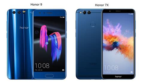 compare the mobile phone compare honor mobile phones honor 7x vs honor 9 honor