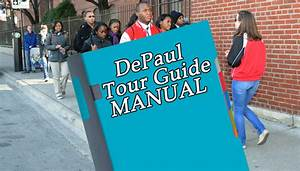 Found  Depaul Campus Tour Guides U0026 39  Training Manual