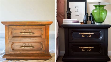 Bring An Old Nightstand Back To Life With This D.i.y