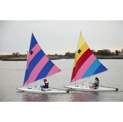 Boat Covers Direct Reviews by Sunfish Sail Boat Blue Stripe Wooden Classic Blades