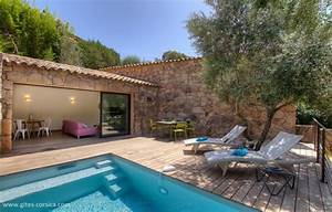 location cottage a porto vecchio location vacances le With gite de france corse du sud avec piscine