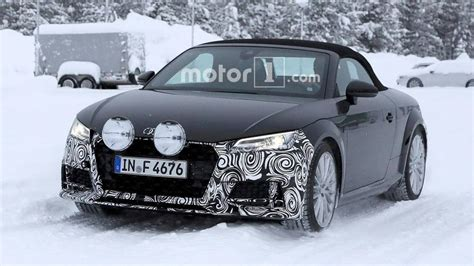 Refreshed Audi Roadster Spied Kicking Snow During