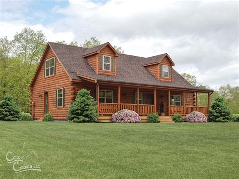 Shop Our Mountaineer Deluxe Cabins   Luxury Log Homes