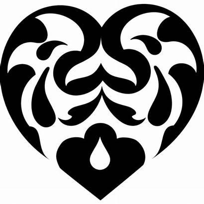 Hart Heart Fancy Hearts Ornamental Corazon Pattern