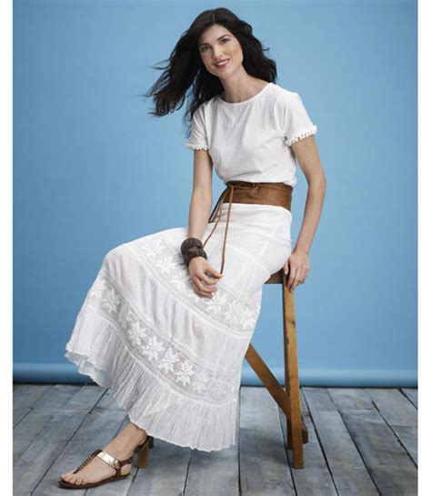 White Summer Outfits For Women White Clothing For Women