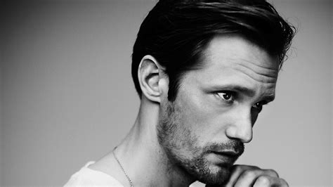 full hd wallpaper alexander skarsgard bristle black