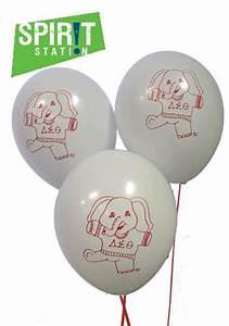 delta sigma theta balloons delta sigma theta pinterest With greek letter balloons