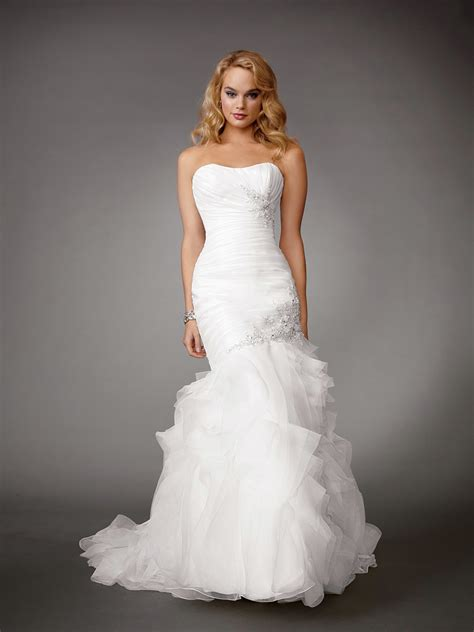 white mermaid wedding dressescherry marry cherry marry