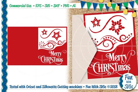 Christmas Card Svg Cutting Files Free  – 462+ Popular SVG File