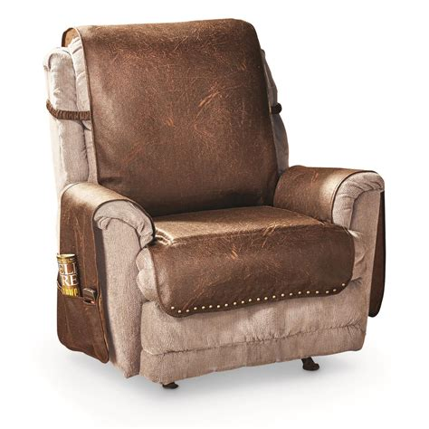 Recliner Covers by Faux Leather Recliner Cover 666210 Furniture Covers At
