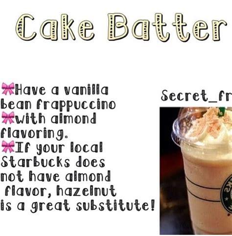 Cake Batter Frappuccino Recipe