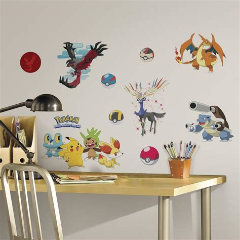 Roommates 5 In X 115 In Pokemon Xy Peel And Stick Wall. Crime Logo. Dark Green Murals. Kawie Stickers. Good Night Stickers. Yuva Logo. Flicker Signs. Radium Decals. Dlj Ral Signs Of Stroke