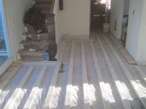 SUBFLOOR on concrete   StatlerProjects's Blog