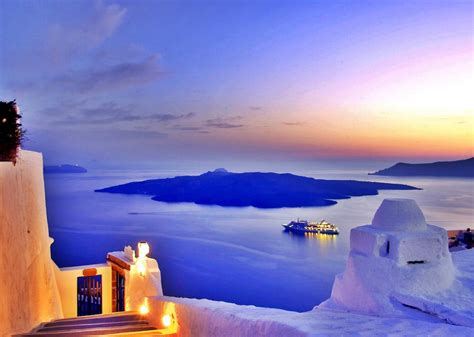 Beautiful Santorini Greece Id Rather Be Living In Bora