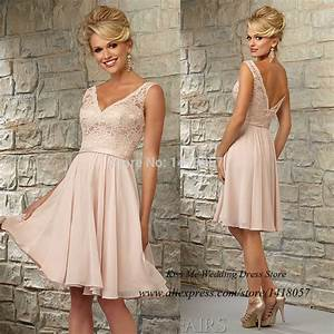 modest light pink lace bridesmaid dress for girls 2015 With light pink dress for wedding guest
