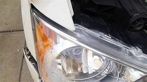 town country caravan headlight removal youtube