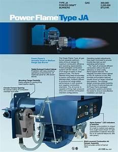 Power Flame J Burner Wiring Schematic